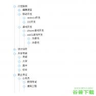 jQuery递归无限极树状菜单特效代码免费下载