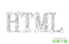 密集气泡组成字母canvas动画特效代码免费下载