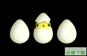 CSS3鼠标悬停鸡蛋破壳特效特效代码免费下载