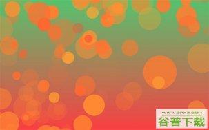 梦幻气泡Canvas背景特效特效代码免费下载