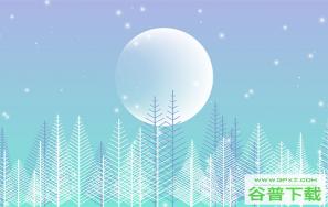 Canvas冬季下雪场景特效特效代码免费下载
