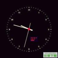 js圆形虚线指针时钟特效特效代码免费下载