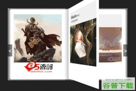 jquery带3D立体翻书效果的电子书相册下载特效代码免费下载