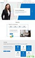 商务咨询金融服务公司模板免费下载
