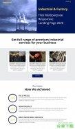 垃圾废物处理厂网站模板免费下载