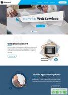 移动应用开发公司网站模板免费下载