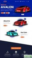 豪华汽车4S店保养网站模板免费下载