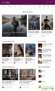 新闻资讯播报网站模板免费下载