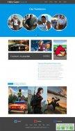 VR游戏厂商网站模板免费下载