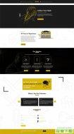 发型设计培训学校网站模板免费下载