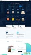 北欧风格家具商城网站模板免费下载