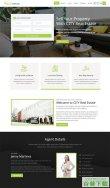 房地产销售中介网站模板免费下载