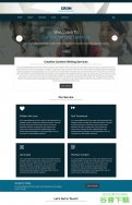 创意内容写作博客模板免费下载