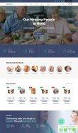 老年人养老保险HTML5模板免费下载