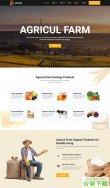 有机食品农业种植网站模板免费下载