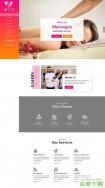 女性Spa美容沙龙官网模板免费下载