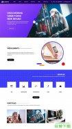 潮流品牌设计公司网站模板免费下载