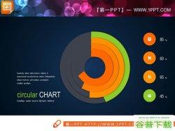 七张包含关系图表PPT模板免费下载