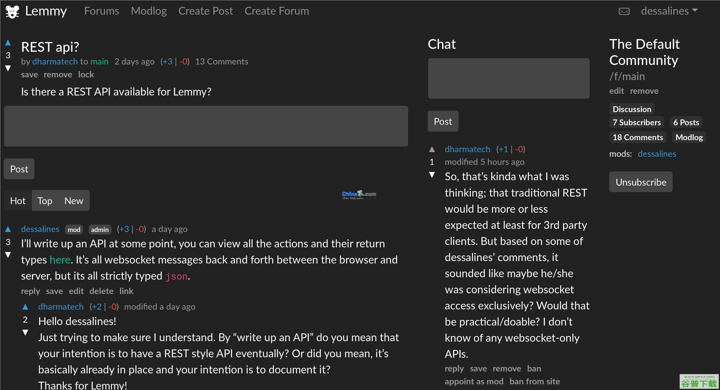 Lemmy仿Reddit社区源代码免费下载