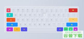卡通网页键盘CSS3特效特效代码免费下载