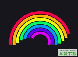 CSS3彩虹进度条动画特效特效代码免费下载