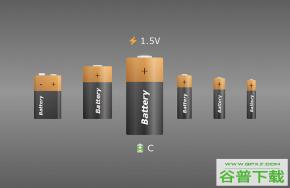创意卡通电池CSS3特效特效代码免费下载