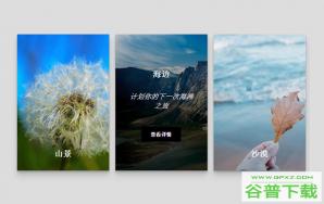 CSS3图片卡片悬停动画特效特效代码免费下载