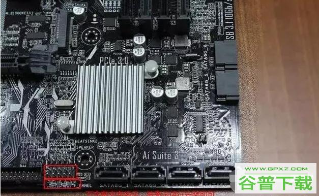 电脑主板电源线接法图解