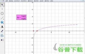 几何画板如何画对数函数图像 绘制方法介绍