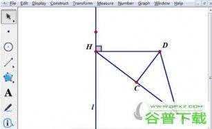 几何画板怎么自定义变换制作抛物线 绘制方法介绍
