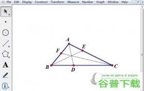 几何画板如何检验几何命题的正确性 操作方法介绍