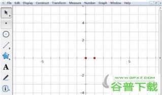 几何画板如何设置点的横坐标为参数 操作方法介绍